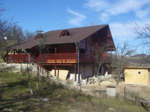 Casa din lemn Cristina si Radu