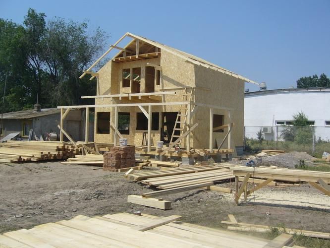 firma constructii case pe structura din lemn